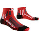 X-Socks Run Speed Two Short Hardloopsokken rood